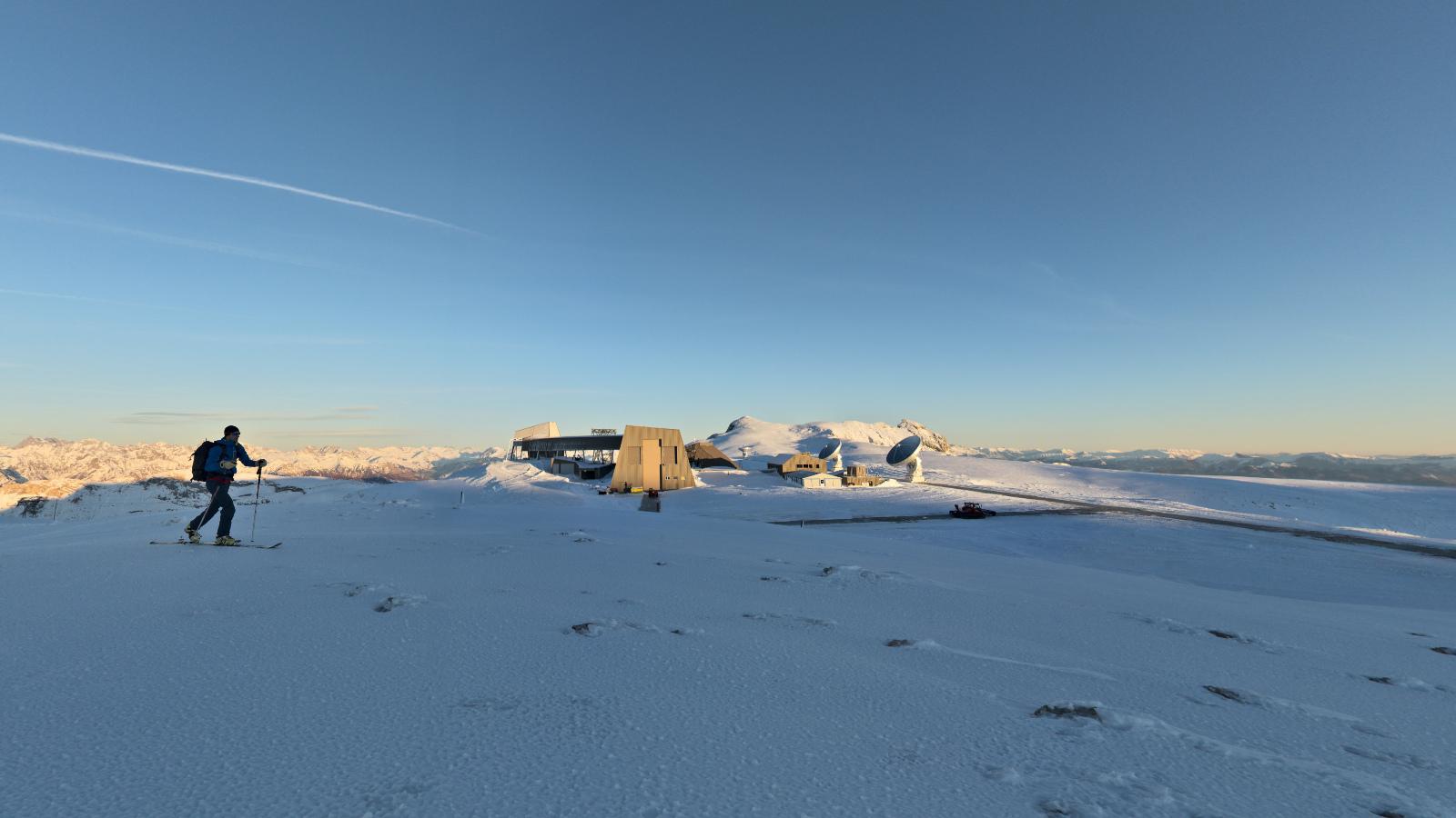 Randonnée à ski sur le plateau de Bure, Dévoluy